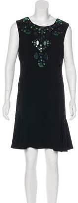 Diane von Furstenberg Jilleigh Embellished Dress