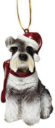Toscano Design Mini Schnauzer Holiday Dog Ornament