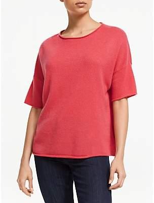 360 Sweater Matilda Pure Cashmere Jumper, Raspberry
