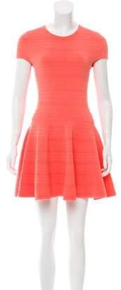 Torn By Ronny Kobo Short Sleeve Mini Dress