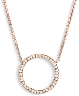 Women's Nadri Openwork Crystal Pendant Necklace $48 thestylecure.com