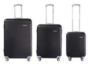 Champs Widebody Three-Piece Luggage Set