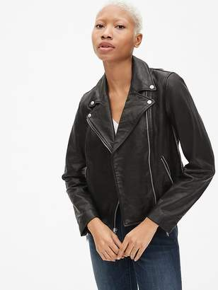Gap Moto Leather Jacket