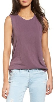 Women's Ag 'Ashton' Muscle Tee $64 thestylecure.com