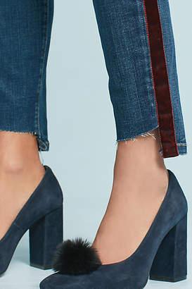 Current/Elliott The Stiletto Mid-Rise Skinny Step-Hem Jeans