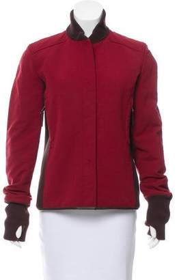 Prada Sport Colorblock Zip-Up Jacket