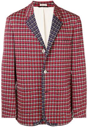 Marni checked blazer