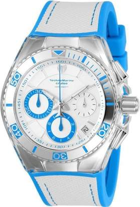 Technomarine Cruise TM-115337 Stainless Steel & Silicone Strap Quartz 49mm Mens Watch