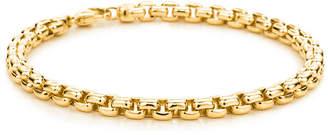 Tiffany & Co. Square link men's bracelet in 18k gold