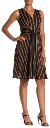 SUPERFOXX Sleeveless Tie Front Dress