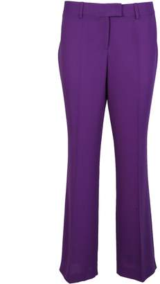 Moschino Pleated Flared Trousers
