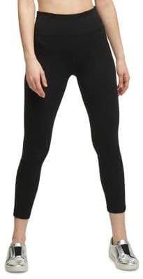 Donna Karan Active High-Waist Crisscross Leggings