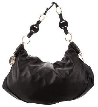 Saint Laurent Leather Hobo Bag