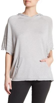 Cullen Fairisle Stripe Silk Blend Hoodie $205 thestylecure.com