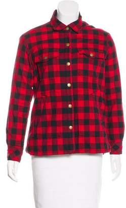 Current/Elliott Plaid Long sleeve Jacket