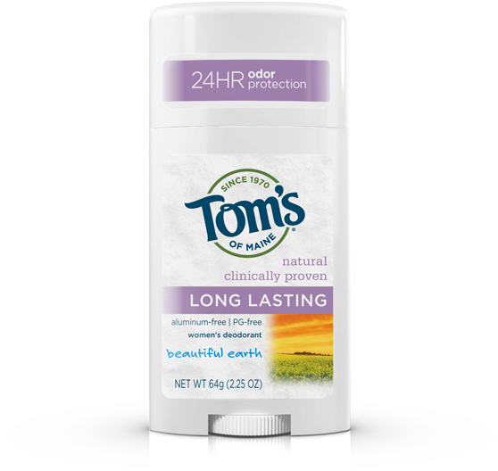 Tom's of Maine Beautiful Earth Aluminum-Free Deodorant Stick