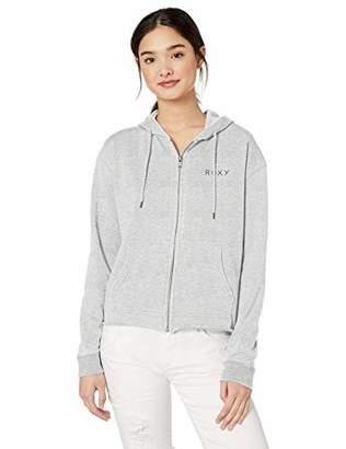 Roxy Junior's Moon Rising Zip Up Sweatshirt,M