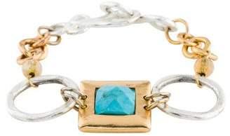 Stephanie Kantis Turquoise & Citrine Hope Bracelet
