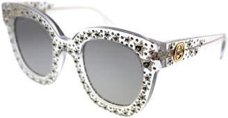 Gucci Women's Square 49Mm Sunglasses