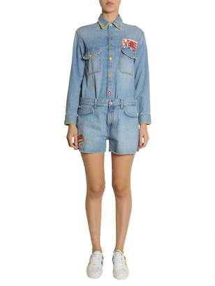 Mira Mikati Denim Jumpsuit