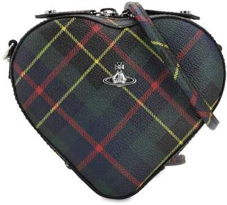 f154f0a484e Vivienne Westwood Derby Coated Canvas Heart Bag