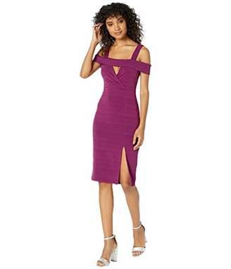 BCBGeneration Women's Off-Shoulder Cocktail Dress