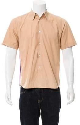 Dries Van Noten Short Sleeve Button-Down Shirt