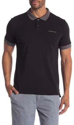 Calvin Klein Jeans Colorblock Short Sleeve Polo