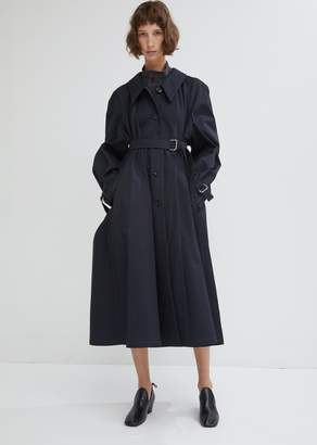 Lemaire Water Resistant Cotton Twill Trench Coat