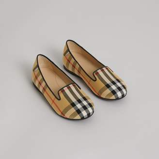Burberry Vintage Check Slippers