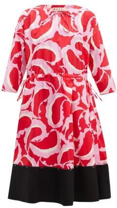 Marni Paisley Print Dress - Womens - Red Multi