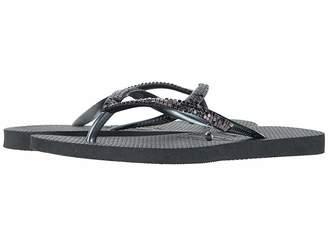 Havaianas Slim Metal Mesh Flip Flops