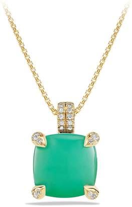 David Yurman 'Chatelaine' Pendant Necklace with Diamonds