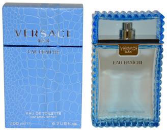Versace Men's 6.7Oz Man Eau Fraiche Eau De Toilette Spray