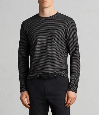 AllSaints Suburb Long Sleeve Crew T-Shirt