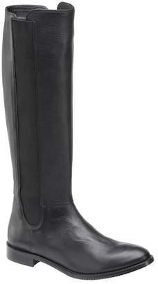 Johnston & Murphy Leisha Leather Knee Length Boot