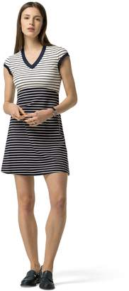 Tommy Hilfiger Ponte Sailor Stripe Dress