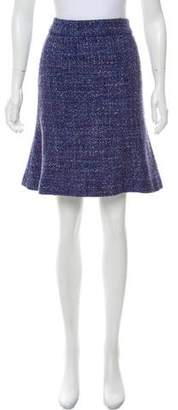 Marc by Marc Jacobs Tweed Knee-Length Skirt
