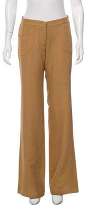 Derek Lam Mid-Rise Wide-Leg Pants