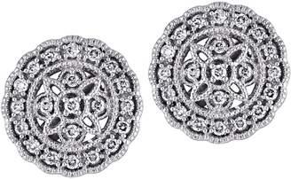 Affinity Diamond Jewelry Affinity 14K 1/5 cttw Diamond Round Vintage Stud Earrings