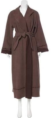 Giorgio Armani Wool & Angora Coat w/ Tags