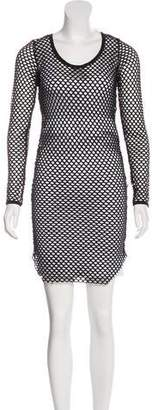 Isabel Marant Long Sleeve Mesh Dress