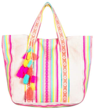 America & Beyond Tutti Frutti Jacquard Hand Bag