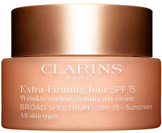 Clarins Extra-Firming Wrinkle Control Firming Day Cream Broad Spectrum SPF 15 - All Skin Types