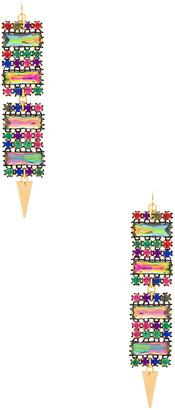 Vanessa Mooney X REVOLVE Gemstone Earrings $55 thestylecure.com