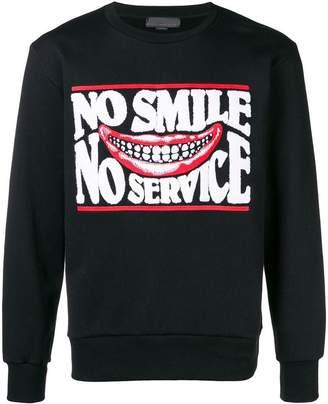Stella McCartney No Smile No Service sweatshirt