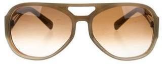 Marni Gradient Aviator Sunglasses