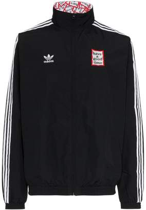 adidas x Have a Good Time reversible track jacket