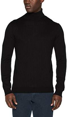 Benetton Men's Turtle Neck Sweater Sweatshirt