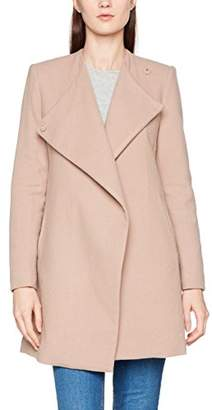 DDP Women's F6ORAD25 Coat, Beige Nude, (Size: X-Large)